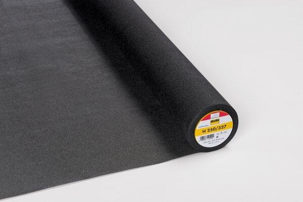 Vlieseline stabile Bügeleinlage H 250 schwarz