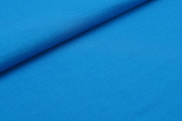 XXL Jersey LILLY uni blau