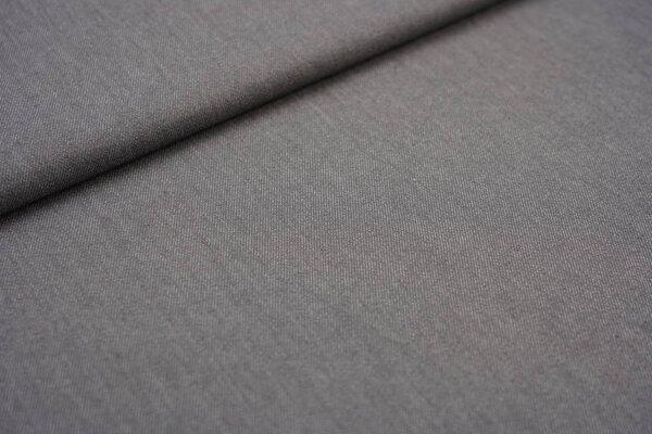Jeansstoff mit Stretch dunkelgrau