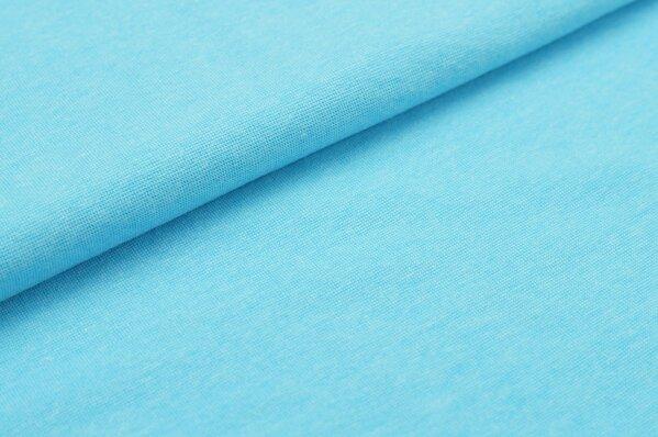 XXL Bündchen glatt Schlauchware neon blau
