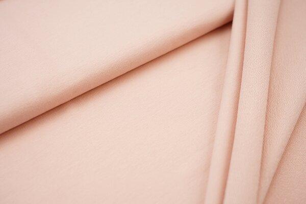 Organic Cotton Emma Baumwoll Sweat French Terry uni lachs