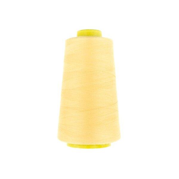 1 Rolle Overlockgarn Nähgarn pfirsich gelb 2740 m Lauflänge 40 S20 Fadenstärke