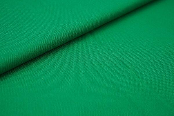 Canvas-Stoff Baumwoll Dekostoff einfarbig uni waldgrün