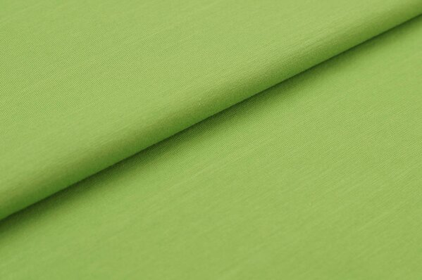XXL Baumwoll-Jersey Marie uni hellgrün