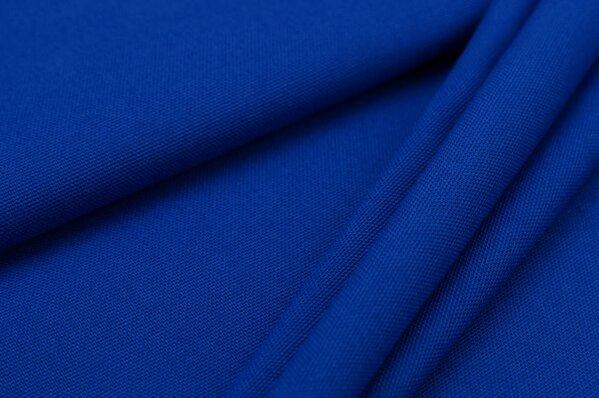 Canvas-Stoff Dekostoff uni royalblau