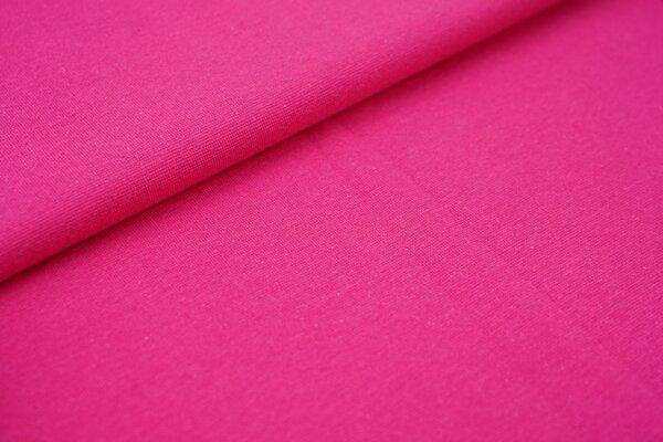 Bündchen glatt uni pink