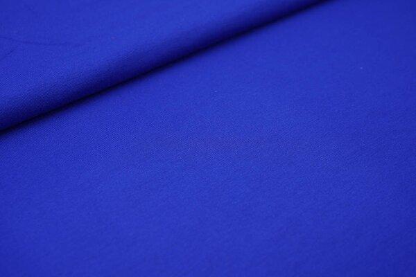 Viskose-Jersey uni königsblau