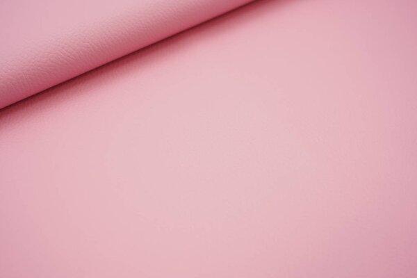 Kunstleder Lederimitat uni rosa