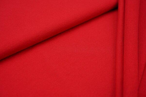 Baumwoll-Sweat Recycelt einfarbig uni rot