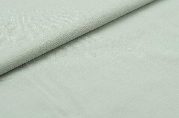 XXL T-Shirt Stoff LILLY uni silbergrau