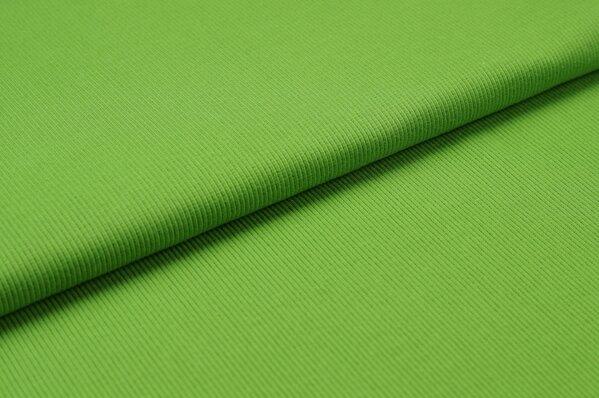 XXL Bündchen LILLY gerippt Schlauchware grasgrün