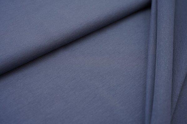 Organic Cotton Emma Baumwoll Sweat French Terry uni jeansblau