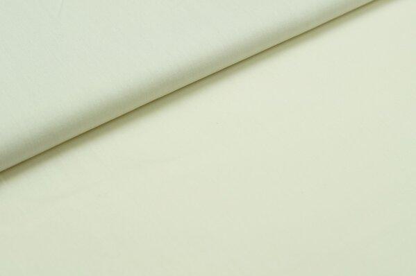 Baumwollstoff Baumwolle uni creme