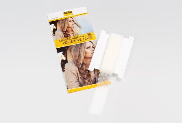 Vlieseline Kantenband T20 fixierbares Band 20 mm x 5 m weiß