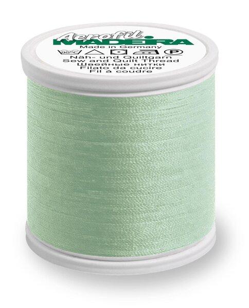Madeira Nähgarn Aerofil No. 35 extra stark Farbe 8647 mint grün