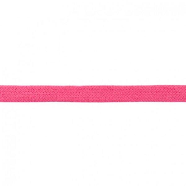 Kordel flach uni fuchsia 20 mm breit