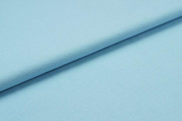 XXL Bündchen LILLY glatt Schlauchware babyblau hellblau