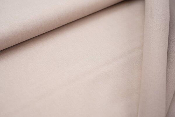 Softshell-Stoff uni beige meliert / beige Innenseite