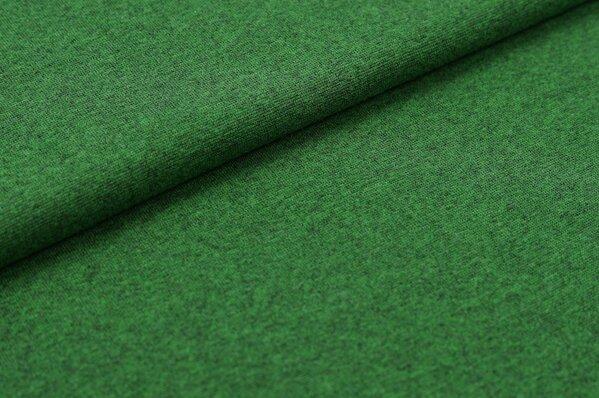 XXL Bündchen LILLY glatt Schlauchware grün meliert