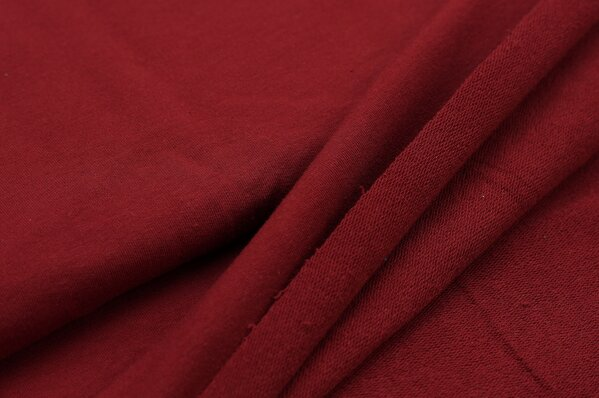 XXL Sommersweat LILLY bordeaux rot
