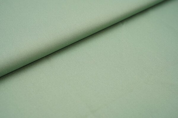 Canvas-Stoff Dekostoff einfarbig uni altmint