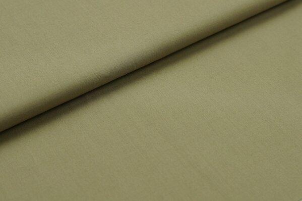Baumwollstoff Baumwolle uni beige