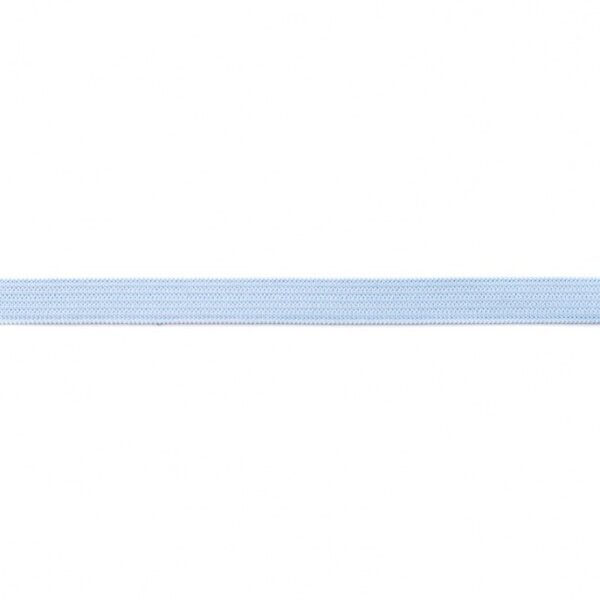 Gummiband 10 mm breit hellblau 2 m lang Flachgummi Allzweckgummi