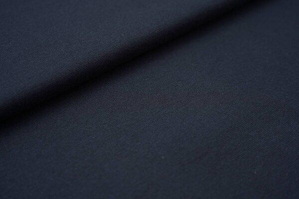 Glattes Organic Bündchen navy dunkelblau