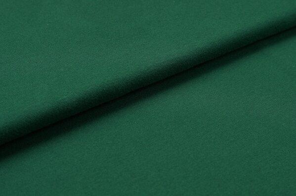 XXL Bündchen LILLY glatt Schlauchware waldgrün