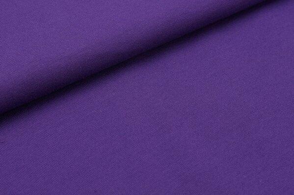 Baumwoll-Jersey uni purpurviolett