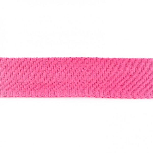 Breites Gurtband uni pink 40 mm