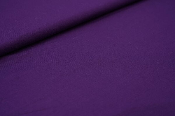 Viskose-Jersey uni dunkel lila