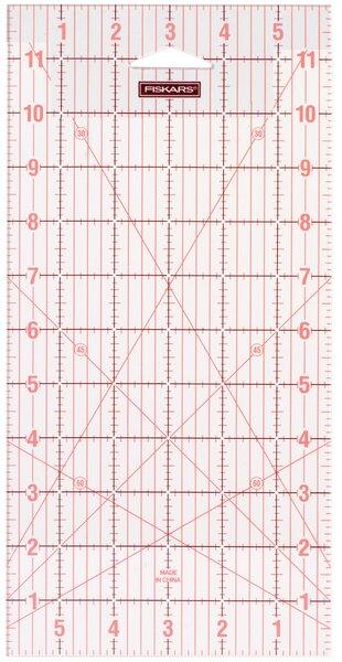 "Fiskars Patchwork-Lineal 6"" x 12"""