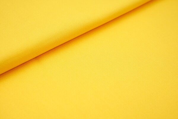 Canvas-Stoff Baumwoll Dekostoff einfarbig uni sonnengelb