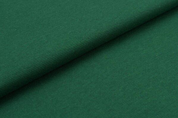 XXL Bündchen Marie glatt Schlauchware dunkelgrün