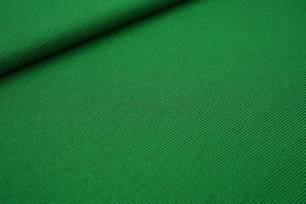 Ringelbündchen glatt Mini-Streifen dunkel moosgrün / apfelgrün