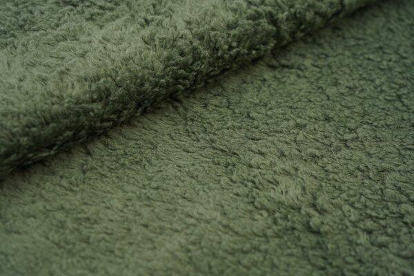 Teddy Plüsch khaki grün