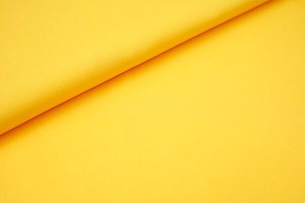 Baumwollstoff uni gelb