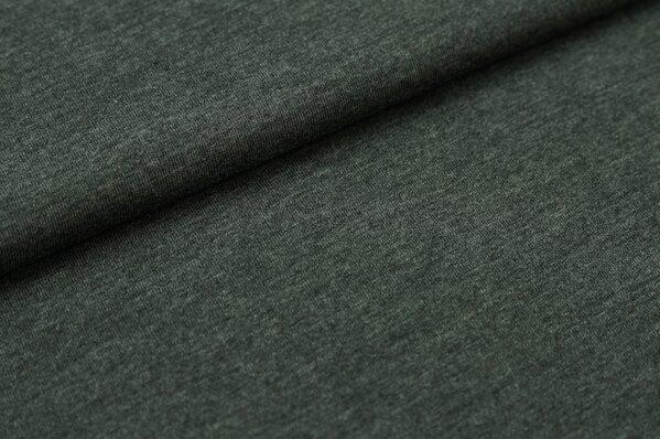 XXL T-Shirt Stoff LILLY anthrazit / dunkelgrau meliert
