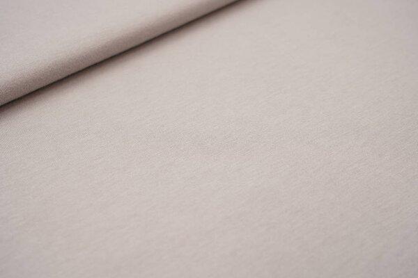 Sommer T-Shirt-Stoff / leichter Jersey uni beigegrau