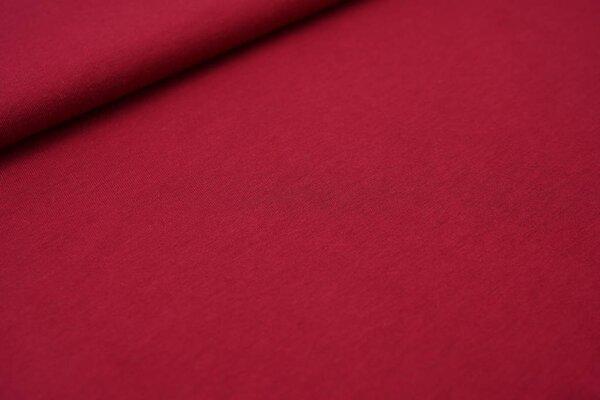 Sommer T-Shirt-Stoff / leichter Jersey uni hell weinrot
