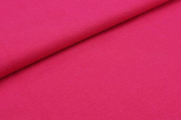 XXL Bündchen Marie glatt Schlauchware amarant pink