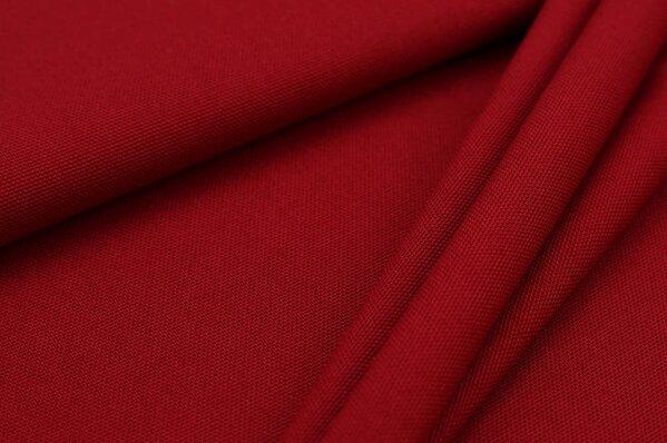 Canvas-Stoff Dekostoff uni dunkel rot