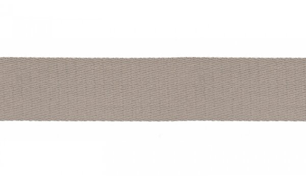 Gurtband soft uni sand beige 40 mm