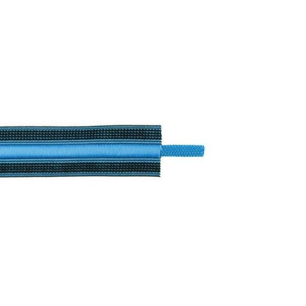 Kordelzug elastisches Zierband für Jogginghosen schwarz / blau 30 mm