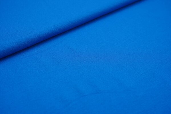 Viskose-Jersey uni blau