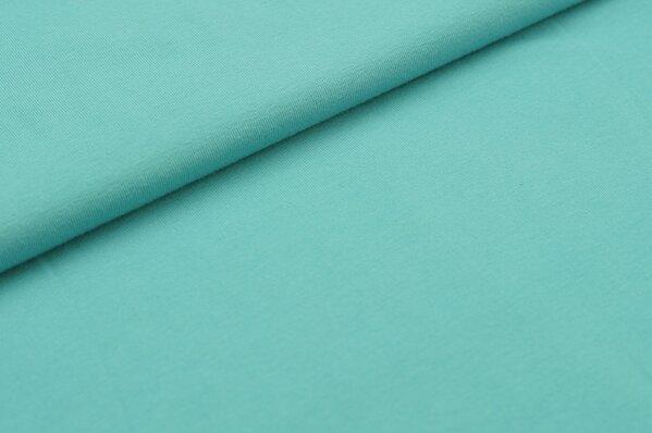 XXL Baumwoll-Jersey Marie uni eisblau