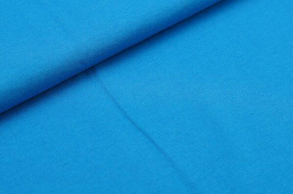 XXL T-Shirt Stoff LILLY uni blau