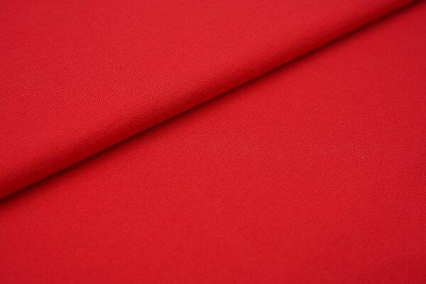Baumwoll-Jersey Recycelt einfarbig uni rot