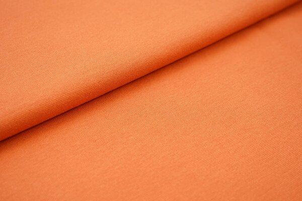 Traumbeere XXL Bündchen LILLY glatt Schlauchware terrakotta orange